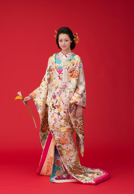 寿鶴彩 白(K009)
